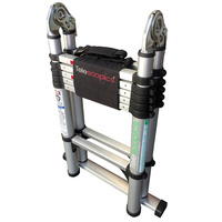 TELESCOPIC PROFESSIONAL STEP/EXTENSION LADDER
