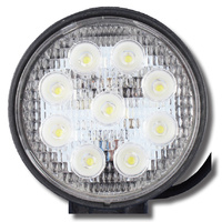 27W LED WORK LIGHT ROUND SPOT